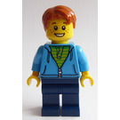 LEGO Boy with Dark Azure Sweater Minifigure