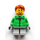 LEGO Boy with Green Jacket Minifigure
