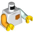 LEGO Boy with White Shirt and Pocket Minifig Torso (973 / 76382)