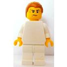 LEGO Brand Store Male, Plain White {Leeds} Minifigure
