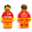 LEGO Brand Store Male, Post Office White Envelope and Stripe, Toronto Yorkdale Minifigure