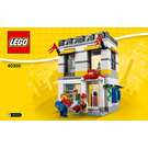 LEGO Brand Store Set 40305 Instructions