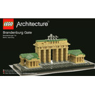 LEGO Brandenburg Gate Set 21011 Instructions