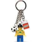 LEGO Brazil Football Keyring (851826)