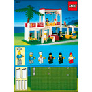 LEGO Breezeway Café Set 10037 Instructions