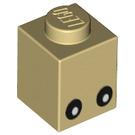 LEGO Brick 1 x 1 with Reindeer Eyes (3005 / 18123)