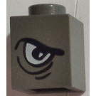 LEGO Brick 1 x 1 with Right Arched Eye (3005)