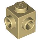 LEGO Brique 1 x 1 avec Deux Goujons sur Adjacent Sides (26604)