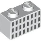 LEGO Brick 1 x 2 with San Francisco Building Windows (3004 / 45329)