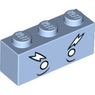 LEGO Brick 1 x 3 with Decoration (3622 / 32734)