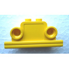 LEGO Brick, 1 x 4 x 2 Bell Shape with Headlights