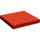 LEGO Brick 10 x 10 without Tubes or Cross Supports