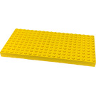 LEGO Brick 10 x 20 with Bottom Tubes in single row around edge, with dual '+' Cross Supports