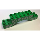 LEGO Brick 2 x 10 x 2 Arch with Girder Pattern (51704 / 60831)