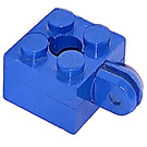 LEGO Brick 2 x 2 Arm Holder with Hole and 1 Arm (Complete)