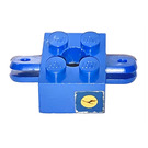 LEGO Brick 2 x 2 Arm Holder with Hole and 2 Arms with Lufthansa Emblem Sticker