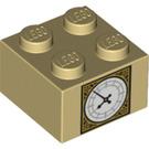 LEGO Brick 2 x 2 with Clock of Big Ben (3003 / 29810)