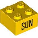 LEGO Brick 2 x 2 with Decoration (14806 / 97636)