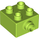 LEGO Brick 2 x 2 with rotation Pin (22881)
