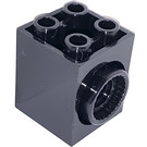 LEGO Brick 2 x 2 x 2 with 2 Holes and Click Rotation Ring (41533)