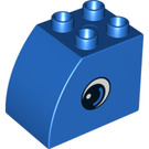 LEGO Brick 2 x 3 x 2 with Curved Side with Eyes (11344 / 13870)