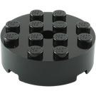 LEGO Brick 4 x 4 Round with Pinhole and Snapstud (87081)