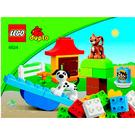 LEGO Brick Box Green Set 4624 Instructions