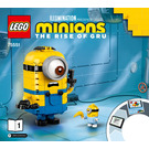 LEGO Brick-built Minions and their Lair Set 75551 Instructions