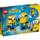 LEGO Brick-built Minions and their Lair Set 75551 Packaging