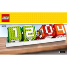 LEGO Brick Calendar Set 40172 Instructions