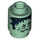 LEGO Brick Round 1 x 1 with Decoration with Open Stud (98046)