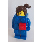 LEGO Brick Suit Girl Minifigure