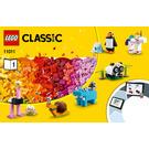 LEGO Bricks and Animals Set 11011 Instructions