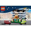 LEGO Bricktober Bakery Set 40143 Instructions