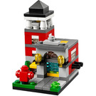 LEGO Bricktober Fire Station Set 40182