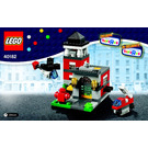 LEGO Bricktober Fire Station Set 40182 Instructions