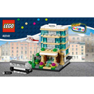 LEGO Bricktober Hotel Set 40141 Instructions
