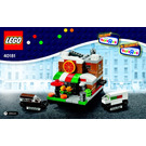 LEGO Bricktober Pizza Place Set 40181 Instructions