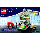 LEGO Bricktober Town Hall Set 40183 Instructions