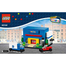 LEGO Bricktober Toys R Us Store Set 40144 Instructions
