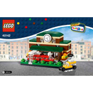 LEGO Bricktober Train Station Set 40142 Instructions