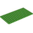 LEGO Bright Green Baseplate 8 x 16 (3865)