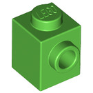 LEGO Bright Green Brick 1 x 1 with Stud on 1 Side (87087)