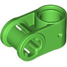 LEGO Bright Green Cross Block 90° 1 x 2 (Axle/Pin) (6536)