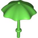 LEGO Bright Green Duplo Umbrella with Stop (40554)