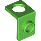 LEGO Bright Green Minfigure Neck Bracket Thinner Back Wall (42446)