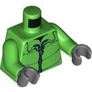 LEGO Minifigure Torso Puffer Snow Coat with Zipper (76382)