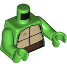 LEGO Bright Green Minifigure Torso Teenage Mutant Ninja Turtle (76382)