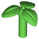 LEGO Bright Green Plant with 3.2 Shaft 1.5 Hole (37695)