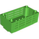 LEGO Bright Green Transport. Box 5 x 8 x 2,5 Wood (98191)